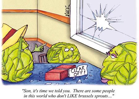 Brussels Sprouts Joke