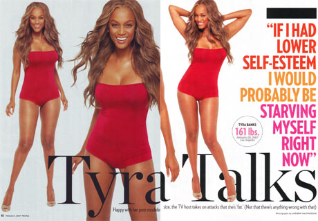 Tyra Banks: Weight Gain, Fat and a Picture